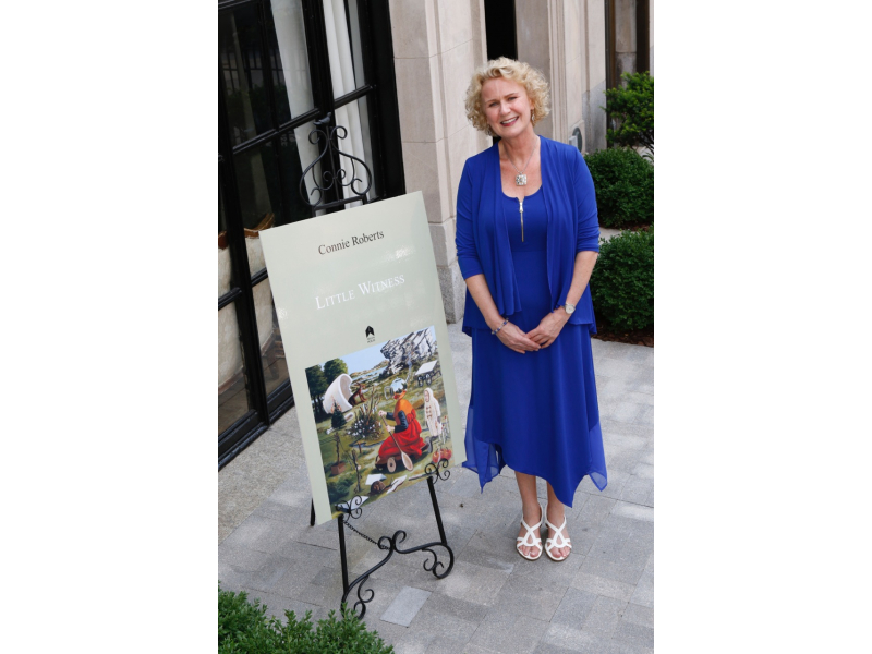 connie-roberts-at-the-launch-of-her-book-little-witness-in-new-york-last-year